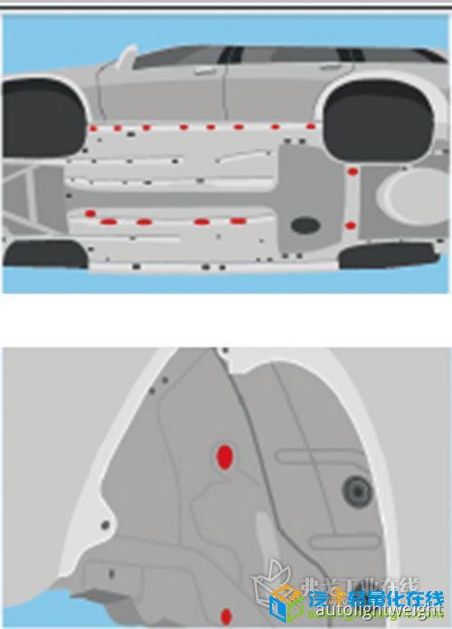 轻质胶带,实现车身堵孔