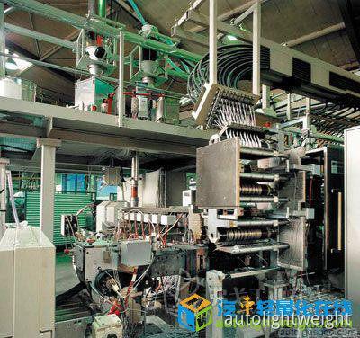 图3 LFT-D的生产工艺