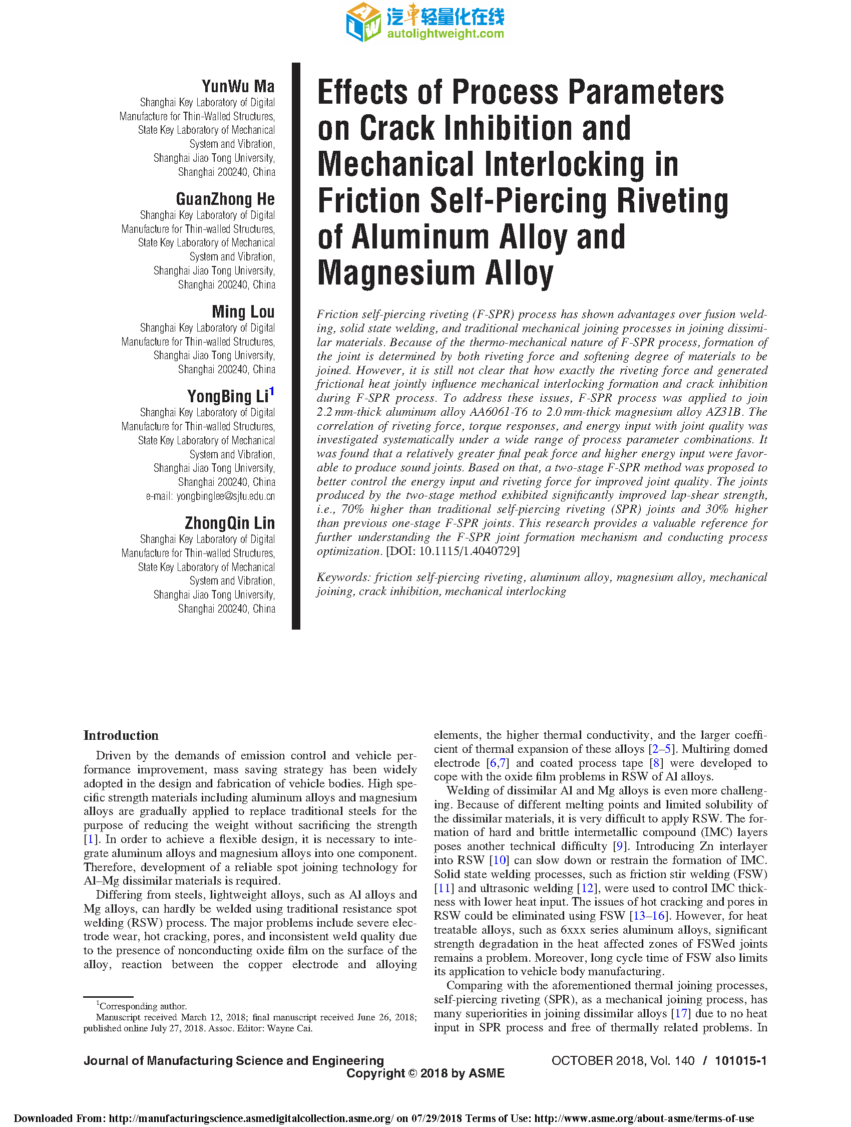 Effects of Process Parameters on Crack Inhibition and Mechanical Interlocking in.png