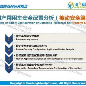 國產乘用車安全配置分析(被動安全篇)